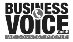 Buisness voice Logo